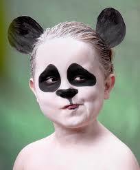 maquillaje-para-ninos-oso-panda-carnaval-2016-ojos-negros-grandes