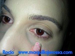 Maquillaje para disfrazarse de bruja (Bruja Mala) Carnaval 2015 crear sombra