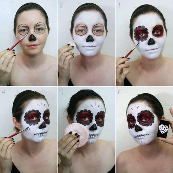 maquillaje-para-disfraz-de-esqueleto-para-halloween-2014-paso-a-paso