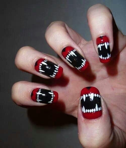 unas-decoradas-para-halloween-2015-dientes-colmillos