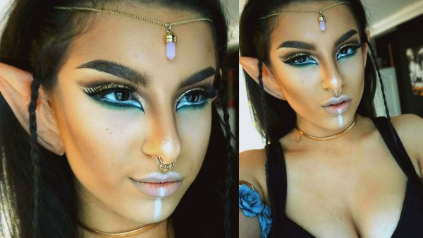 maquillaje-de-duende-para-carnaval-2016-maquillaje-de-mujer-sombras-llamativas