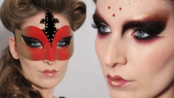 maquillaje-para-acompanar-mascara-veneciana-carnaval-2016-sombras-rojas