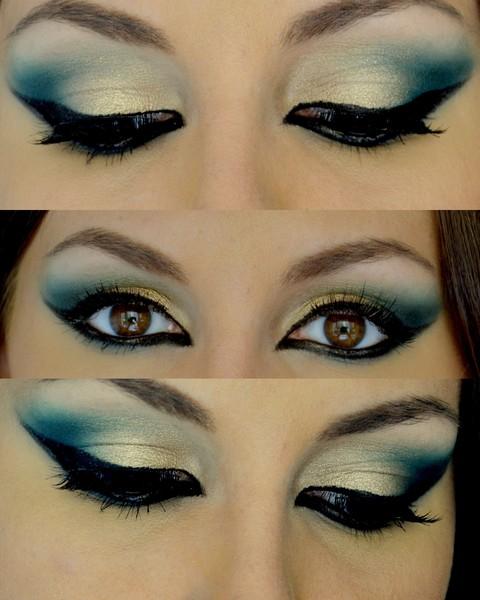 maquillaje-arabe-exotico-paso-a-paso-carnaval-2016-ojos-sombras-en-verde