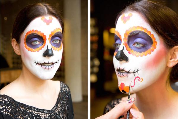 maquillaje-de-esqueleto-para-carnaval-2016-calavera-mexicana-resultado-final