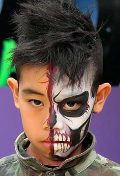 maquillaje-halloween-nino-media-cara