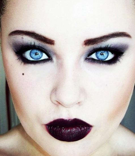 maquillaje-vampiresa-gotica-carnaval-2016