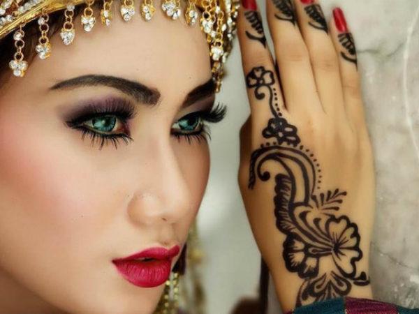 maquillaje-arabe-halloween-hena