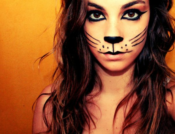 maquillaje-de-gatos-cats-halloween-2016-sencillo