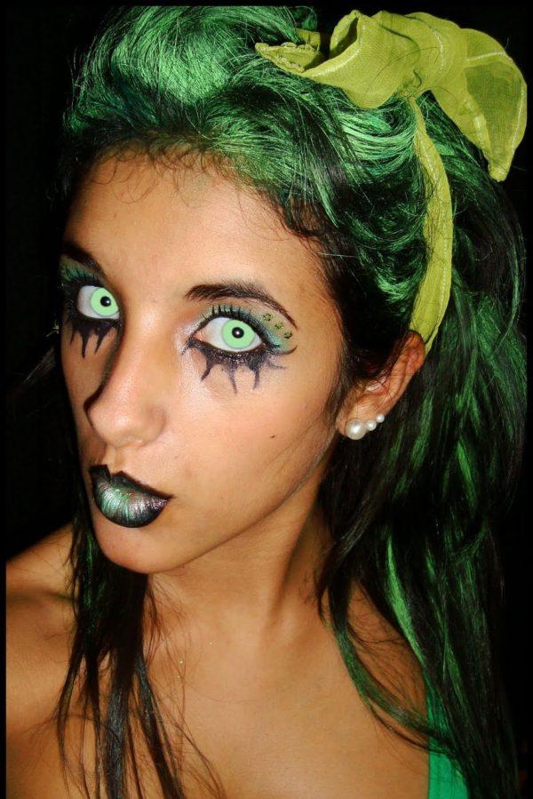 maquillaje-de-hada-verde-halloween-2016-siniestra