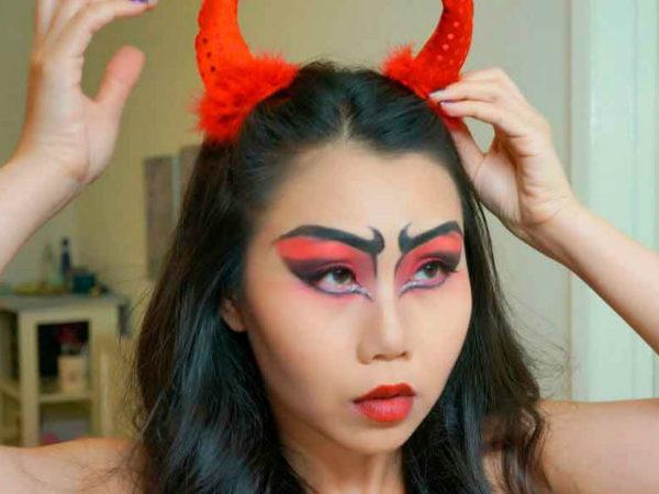 maquillaje-halloween-demonio-sexy