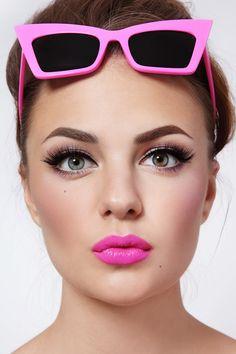 Maquillaje De Noche Para Un Vestido Rosa Vestidos