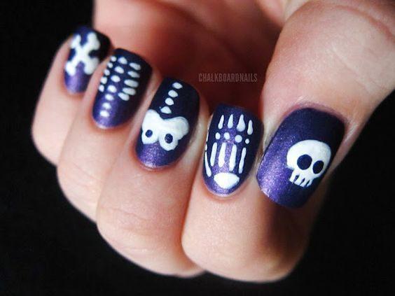 unas-halloween-esqueleto
