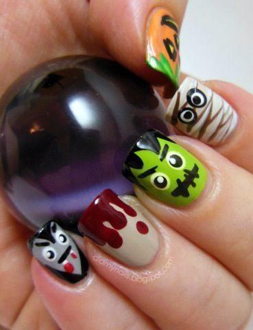unas-halloween-monstruos