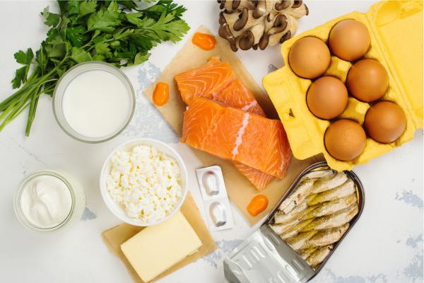 Buenas fuentes de vitamina D