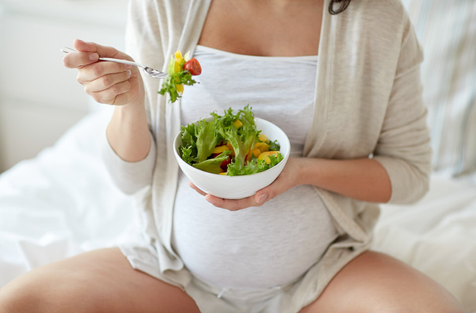 Embarazo veganismo
