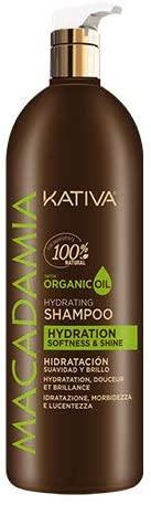 Champú sin sulfatos Kativa Macadamia Hidratante
